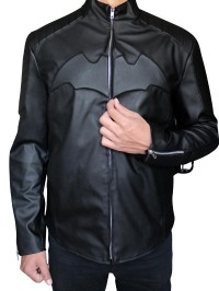 Black Christian Bale Batman Begins Jacket-feed