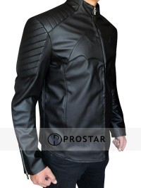 Black Christian Bale Batman Begins Jacket-side-pose