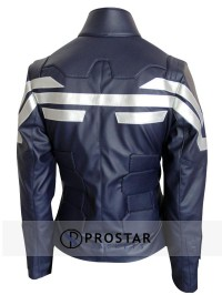 The Winter Soldier Captain America Jacket For Females-back