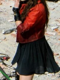 AGE OF ULTRON ELIZABETH OLSEN  JACKET