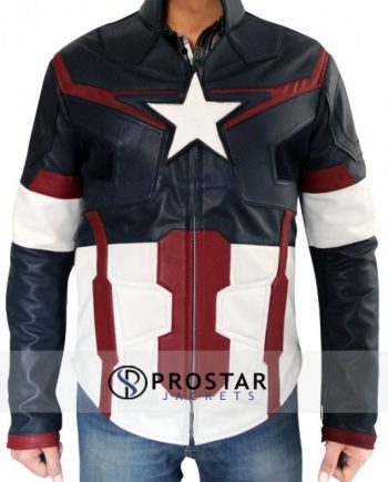 Captain America Avengers Age of Ultron Jacket