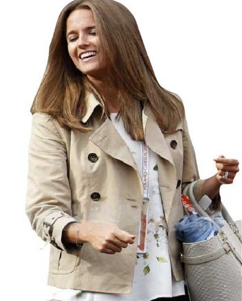 Kim-Sears-Cotton-Brown-Women-Jacket