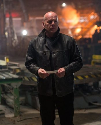 Bruce Willis Black Jacket