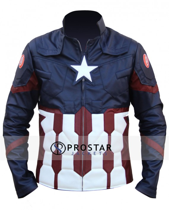 Captain America civil War Jacket