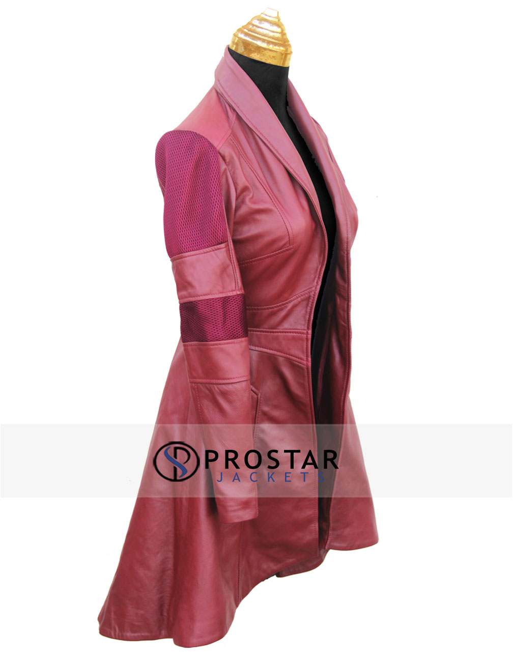Red Civil War Scarlet Witch Coat - ProStarJackets