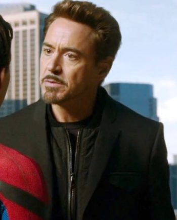 Spider-Man Homecoming Tony Stark Coat
