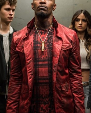 Jamie Foxx Red Jacket