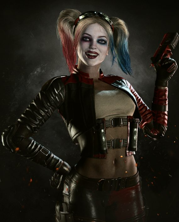 Injustice 2 Harley Quinn Cosplay Jacket