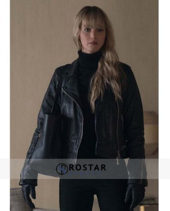 red sparrow jacket