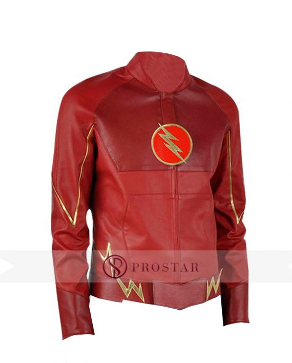 Barry Allen The Flash Leather Jacket