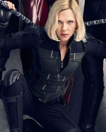 Black Widow Scarlett Johansson Vest