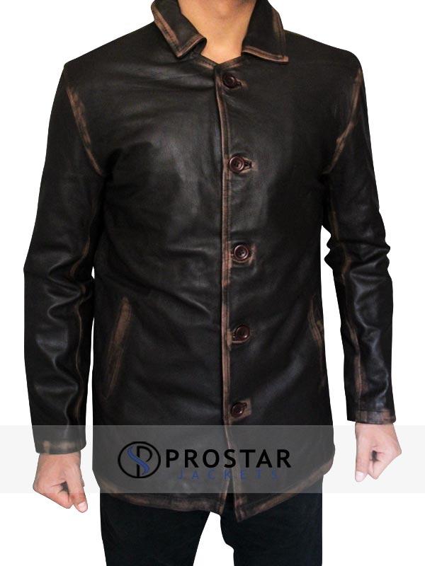 Dean Winchester Supernatural Jacket-front