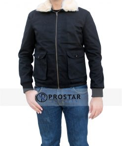 Front-pose-Harry Edward cotton Jacket-New