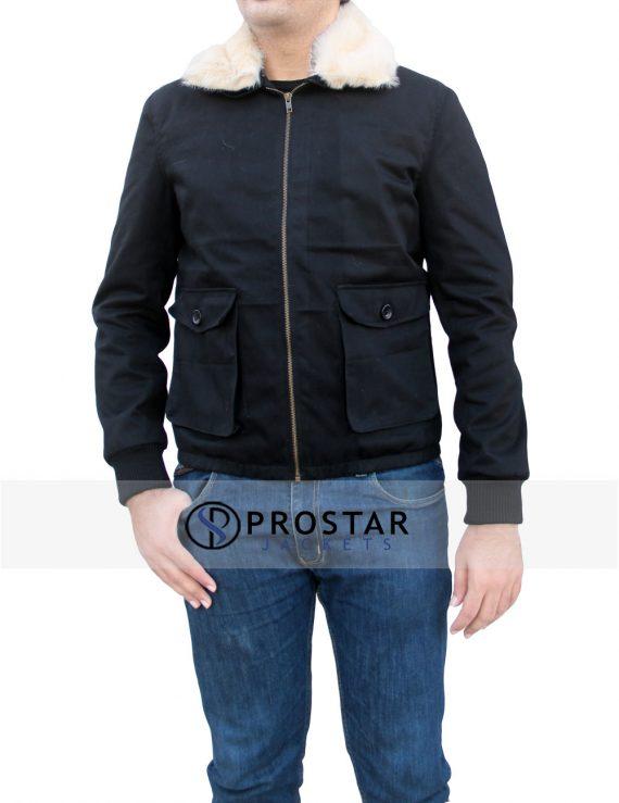Front-pose-Harry Edward cotton Jacket-New