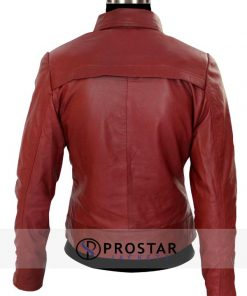 Red Emma Swan Once Upon a Time Jacket-back