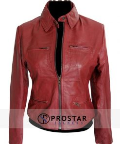 Red Emma Swan Once Upon a Time Jacket-front