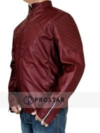 Red Superman Smallville Jacket-sidepose