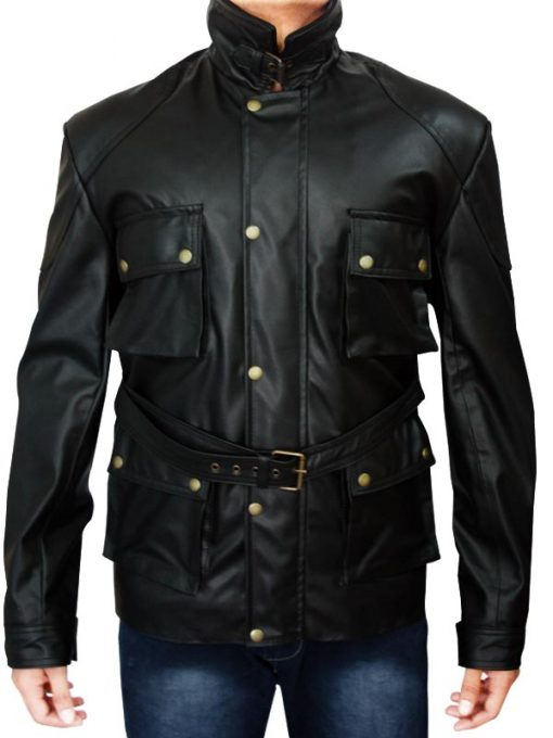 The Dark Knight Rises Bane Jacket-front