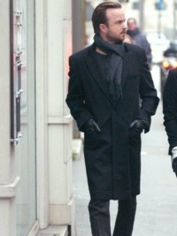 Aaron Paul Lauren Parsekian Paris Coat (2)