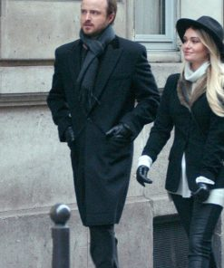 Aaron Paul Lauren Parsekian Paris Coat
