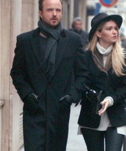 Aaron Paul Lauren Parsekian Paris Coat.