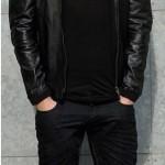 Calvin-Harris-Jacket Milan Black Jacket