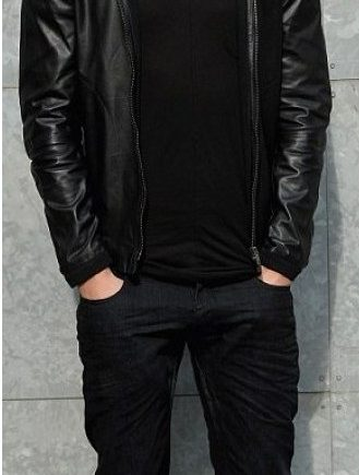 Calvin-Harris-Jacket Milan Black Jacket