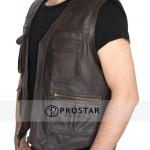 Chris Pratt Leather Vest