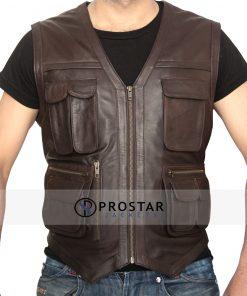Jurassic World Leather Vest