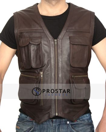 Jurassic World Leather Vest