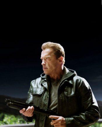 Terminator Genisys T800 Arnold Schwarzenegger Jacket