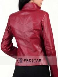 Red Heartland Valentines Day Women Jacket