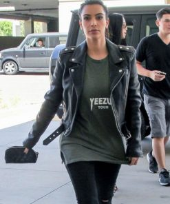 Kim Kardashian Jacket Outfit