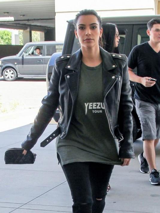 Kim Kardashian Biker J...