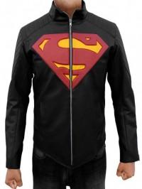SUPERMAN BLACK MAN OF STEEL JACKET 1