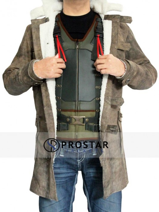 The Dark Knight Rises Distressed Bane Coat