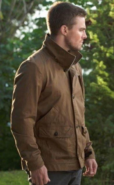 Arrow Oliver Queen Stephen Amell Jacket
