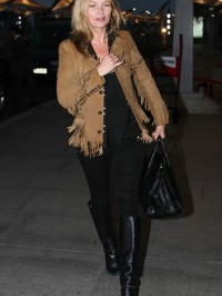Kate Moss Suede Fringed Jacket