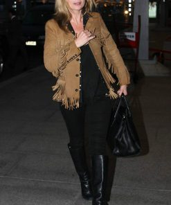 Kate Moss Suede Fringed Jacket