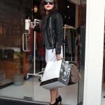 Amanda bynes leather jacket