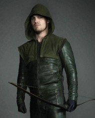 Stephen Amell Black Arrow Jacket