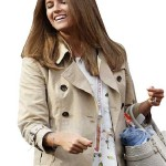 Kim Sears Cotton Jacket Brown Women