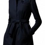 Long Wool Black Winter Coat For women