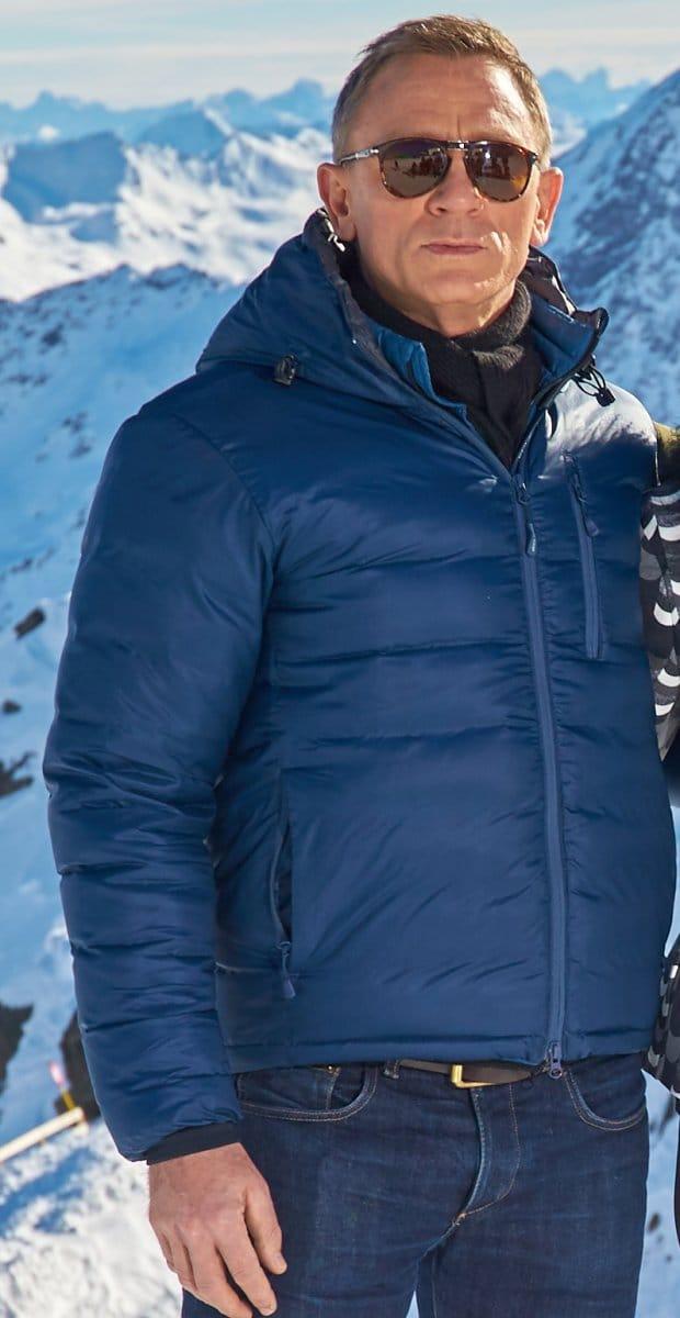 Spectre James Bond Puffer Jacket Prostarjackets