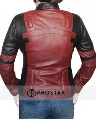 deadpool women leather jacket