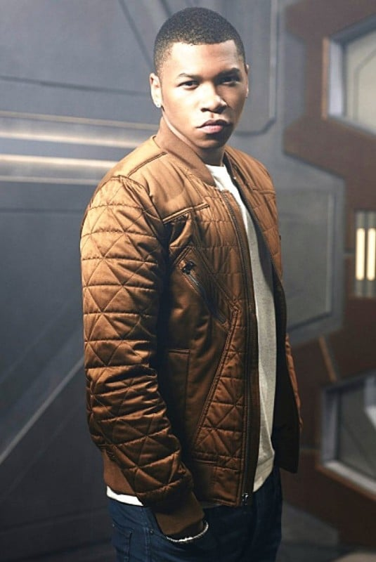 Franz Drameh Legends of Tomorrow Brown Jacket