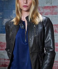 Carrie Mathison Leather Jacket