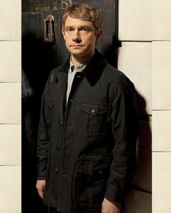 Dr.Watson Black Jacket