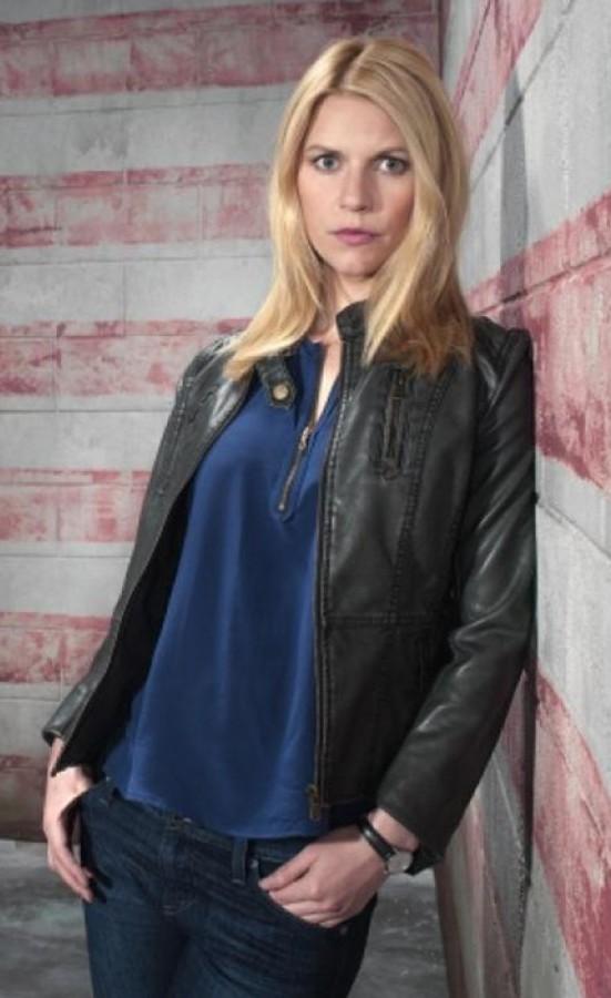 Claire Danes Homeland Leather Jacket Season 6 Prostar