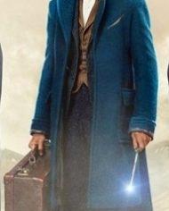 Where to Find Them Eddie Redmayne Wool Coat